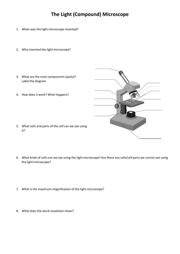 comparing light vs electron microscopes by ems brailey teaching resources tes. Black Bedroom Furniture Sets. Home Design Ideas