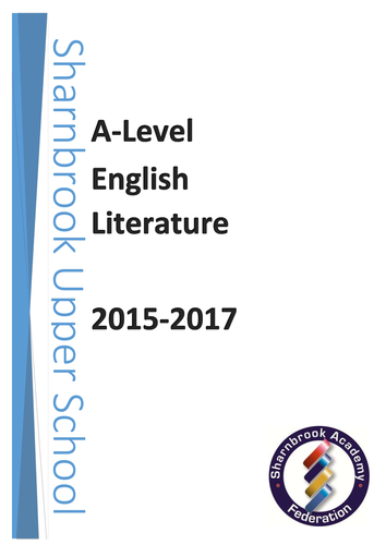 English literature a level coursework help