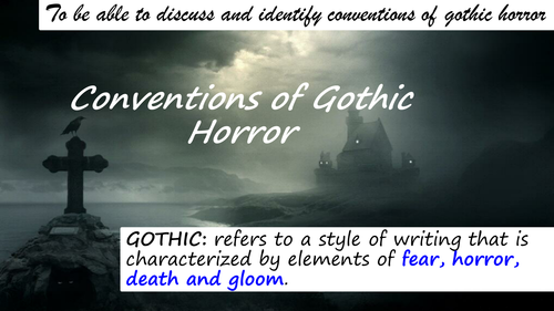 Introduction to Gothic KS3