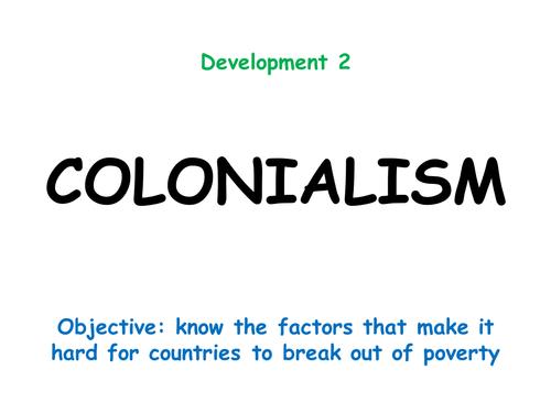 Development 2: COLONIALISM