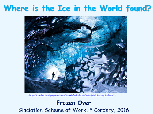 Discovering Ice Around the World