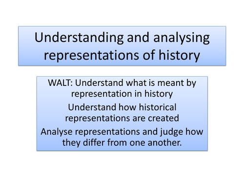 Understanding and analysing representations of the Vietnam War - GCSE Coursework