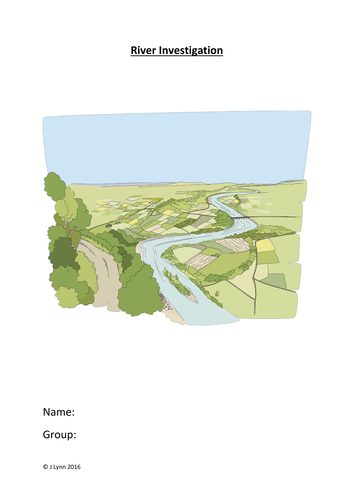 River Fieldwork Investigation Booklet - A / AS Level - All specs