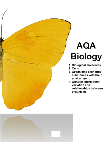 AQA AS Biology Revision Book (New Specification)