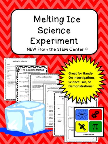 Water: Melting Ice Lab