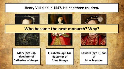 The Tudors - How did King Edward VI change England?