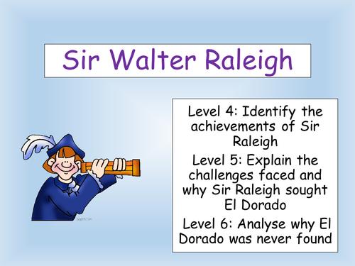Sir Walter Raleigh and El Dorado