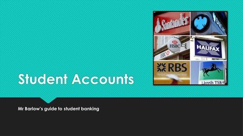 University Life - Student Bank Accounts