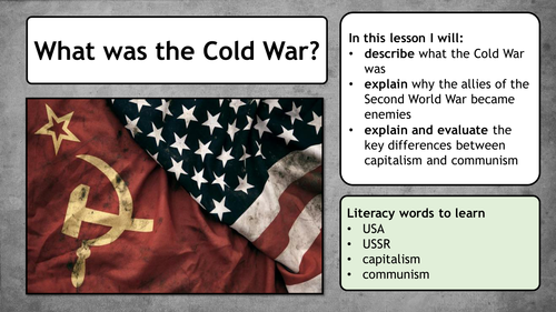 Cold War - Introduction to the Cold War (Yalta, Potsdam, capitalism, communism)