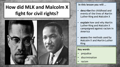 Martin and malcolm and america essay