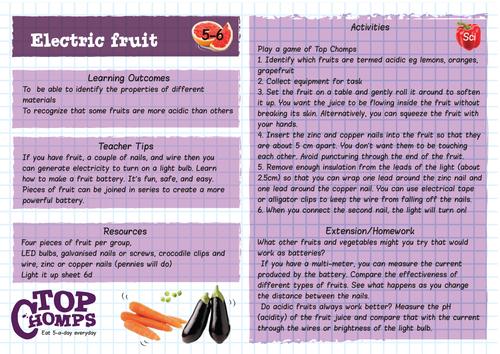 Electric fruit