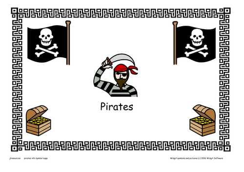 Pirates  Resource Pack / Symbol supported and Text versions