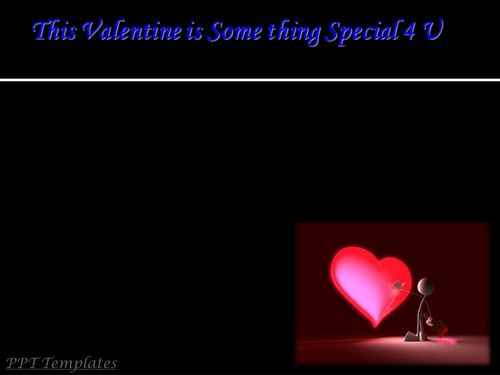 Valentines Day PowerPoint Presentation (PPT Slides) with Background Music
