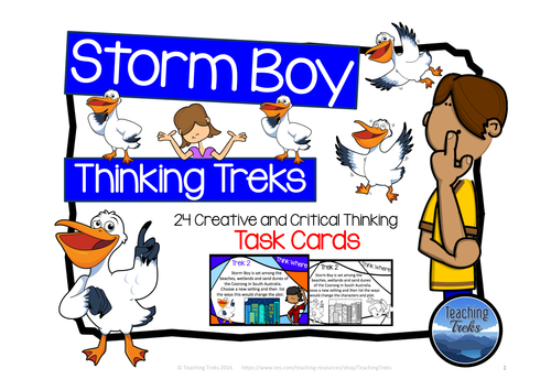 Collaborative Teaching With Special Education ~ Storm boy thinking treks by teachingtreks teaching