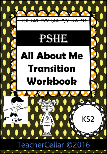 All About Me Transition KS2