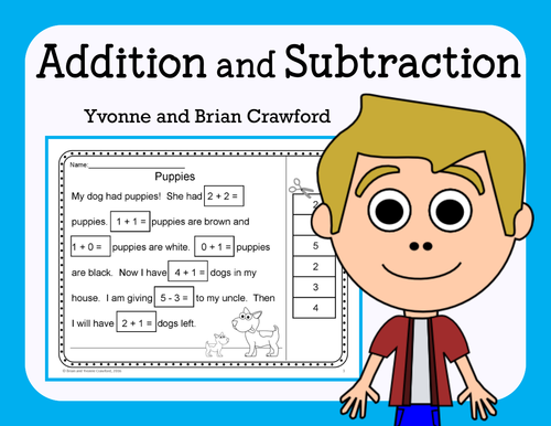 Addition and Subtraction (K and 1st grade) NO PREP Printables