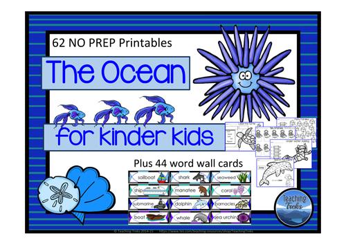Oceans for Kinder Kids