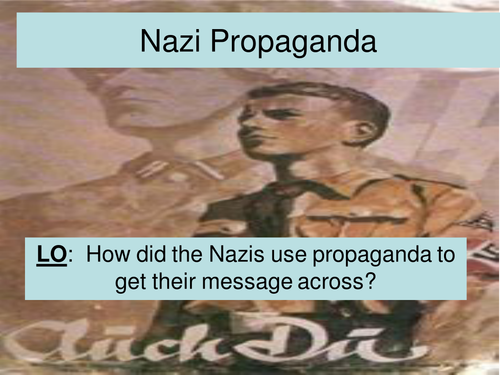 how did propaganda help the nazis How did nazi propaganda influenced the regime politics essay the propaganda used by the nazis was influential on our marking service will help.