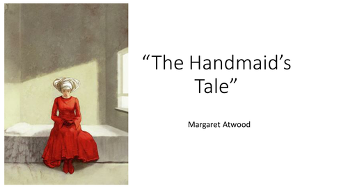 The Handmaid's Tale - Introduction lesson