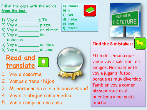 Future plans spanish MIRA 3