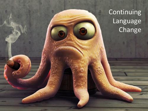 A2 Language Change lesson 3