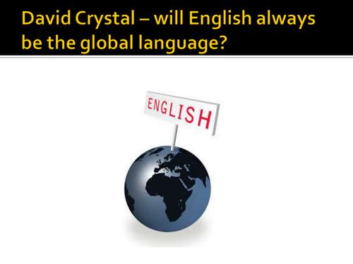 Language Diversity and Change - new AQA English Language A Level (20th and 21st century English use)