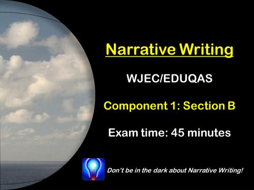 Narrative Writing: WJEC/EDUQAS - Exam Preparation