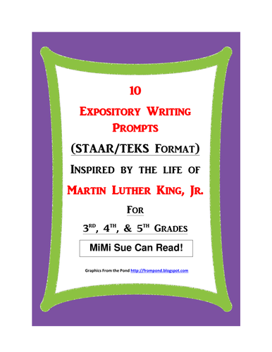 expository writing prompts 4th grade Expository writing prompts get your students excited about writing by sharing these creative expository writing prompts 4th grade students will love prompt 1: write a story where the last line is and that's how mchenry the rabbit became the star of the show.