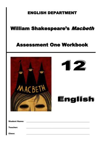 Macbeth assessment booklet - legal summation speech