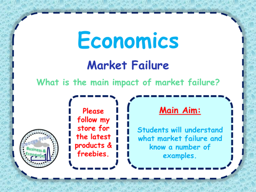 Market Failure Government Intervention Allocative Efficiency A