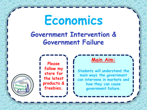 What are the pros and cons of government intervention on the economy?