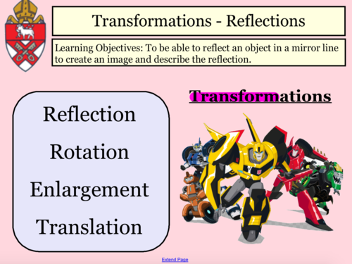 Complete Rotation and Reflection Lessons (3)