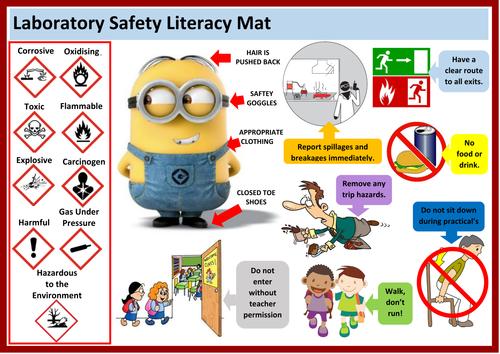Laboratory Safety Literacy Mat