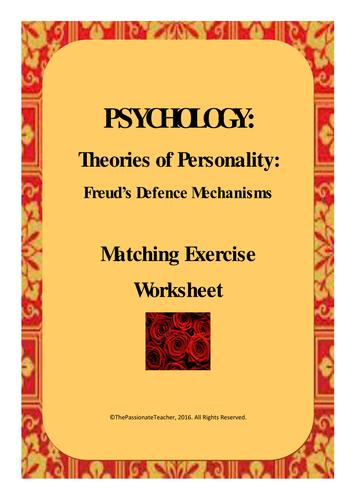 Freud's Defence Mechanisms