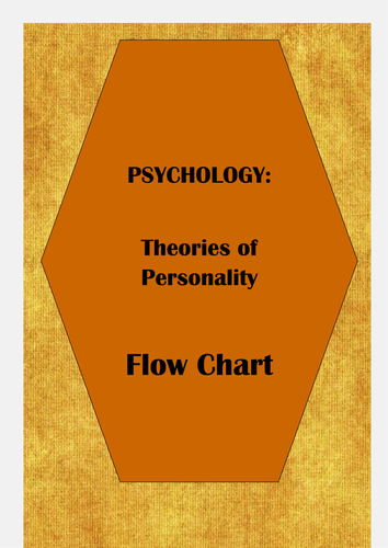 Personality Theories: Flow Chart