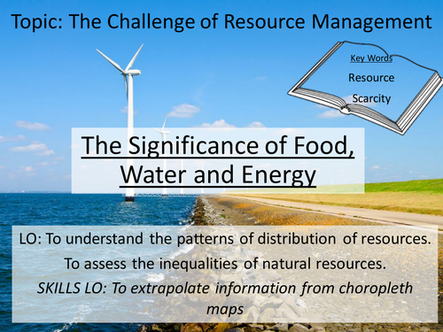 New AQA GCSE Resource Management - 1. Overview and Significance of resources