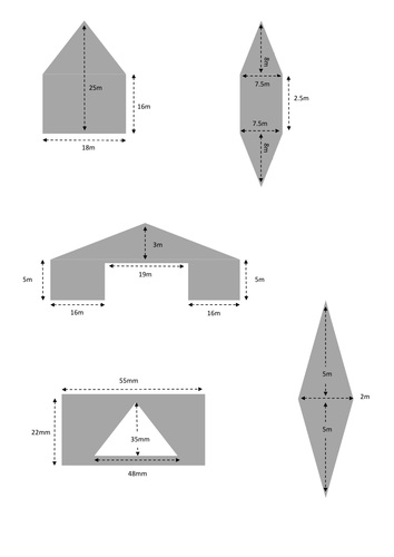 Find The Area Of Composite Shapes Rectangles And