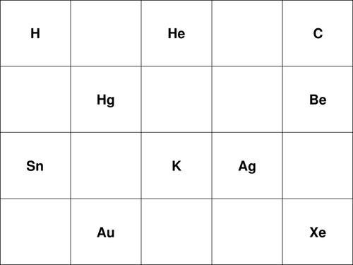 Rubreks shop teaching resources tes ks3ks4 periodic table bingo urtaz Gallery