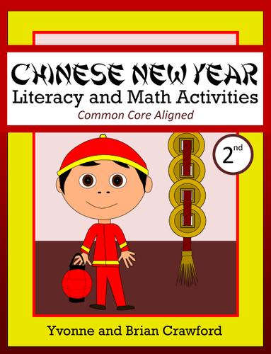 Chinese New Year 2nd Grade Math and Literacy