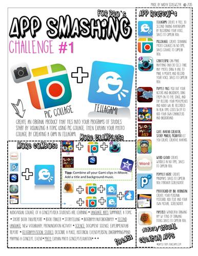 App Smashing Task Card **Free**