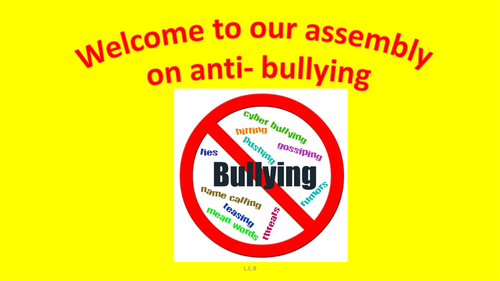 Make Some Noise! Anti-bullying assembly