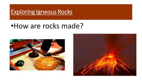 Investigating Igneous Rock - Viscosity