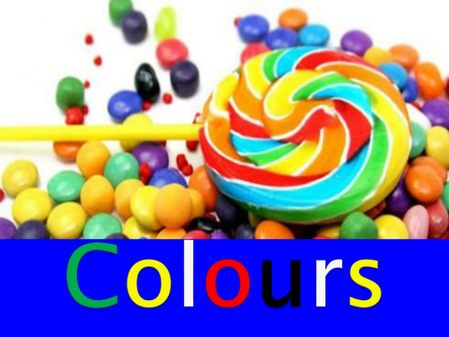 Journey to the Amazing World of Colours