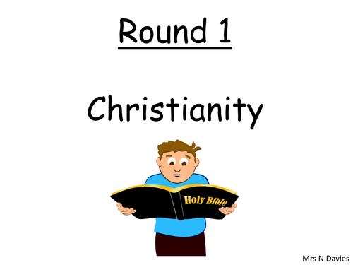 Religious Studies New Term Quiz 2016