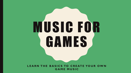Make your own Game music