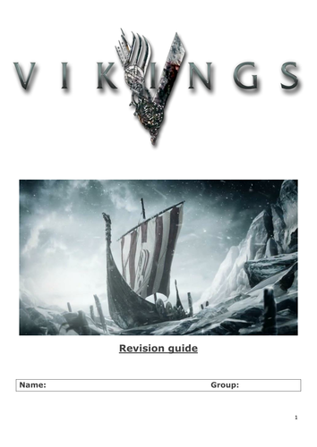Vikings Revision Guide