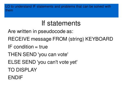 python how to close if else statements