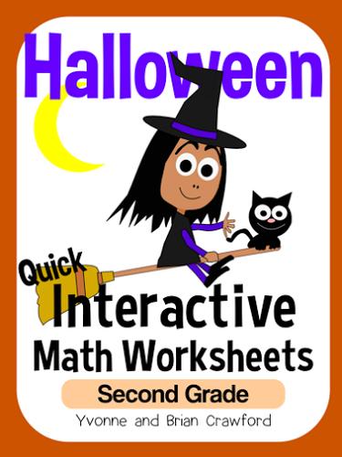 2nd grade halloween math games
