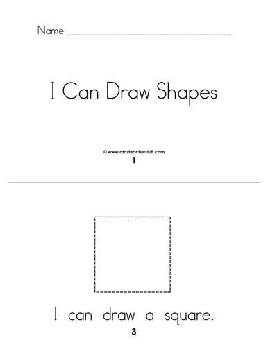 i can draw shape