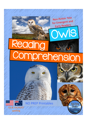Owls Reading Comprehension